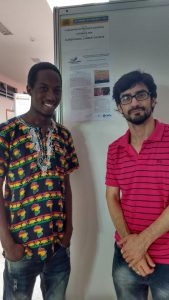 Alassana Dem, desenvolve trabalho de Iniciação Científica. Tema: cosmopolítica e o afropolitanismo em Achille Mbembe.