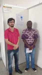 Mamadu Djalo, é bolsista de Iniciação Científica (PIBIC/UNILAB). Tema de trabalho: cosmopolítica e a filosofia Bantu em Alexis Kagame