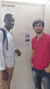 Abdulai Djabi, é bolsista do Projeto de Extensão Francofonia Afropolitana (PIBEAC - 2016/2017)
